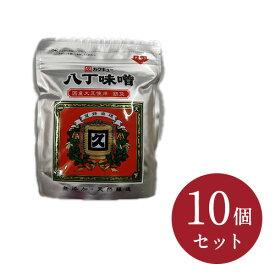 【カクキュー】国産大豆八丁味噌銀袋 300g×10入り(荒)【送料無料】【お取り寄せ】