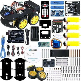 ELEGOO スマートロボットカーV3.0 電子工作教育的おもちゃ、全年齢対象ロボット
