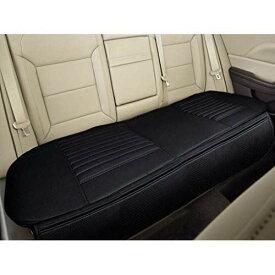 Big Ant(ビッグアント)自動車 後部座席シートカバー 通気性 綺麗に保つ 車後部座席クッション防水 シート小物滑り止め防水 後部座席 ペットシートカバー車 ブラック 黒