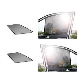 【RUIYA 2PCS】BMW5 G30(2016-2019)専用 サンシェード 遮光カーテン UVカット日焼け防止 取付簡単 コンパクト (前サイドウィンドウ用)