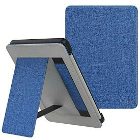 ATiC NEW-Kindle Paperwhite ケース Newモデル Kindle Paperwhite 2018 10代に適応 スタンド付き オートスリープ機能 ハンドストラップ付き 保護カバー MAT INDIGO