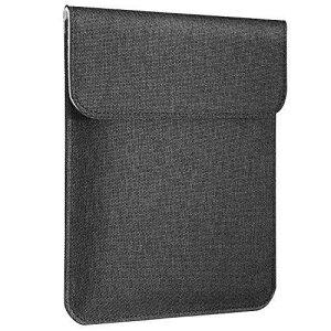 ブリーフケース ATiC New Kindle 第10世代 2019年モデル/Kindle 第8世代 2016/Kindle Paperwhite 第10世代 2018/Kindle Voyage (第7世代)2014専用 ポリエステル製 6インチKindle電子書籍リーダー用収納カバー 内部フラ