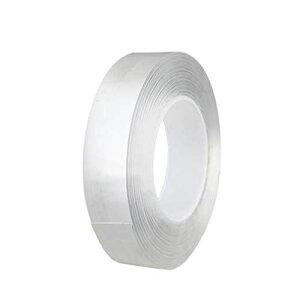 両面テープ 強力 透明 はがせる 凸凹面用 防水用 耐候性 耐熱性 DIY 車用テープ 透明両面テープ (20mm*10m)