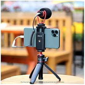 Ulanzi スマートフォンビデオマイクキット ビデオマイク + 自撮り棒 + スマートフォン用ホルダー vlog YouTube 映画製作用 iPhone 11 Pro Max 7 8 X XS MAX 11 Pro Samsung Huawei 対応