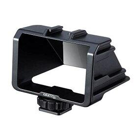 UURig 自撮り用液晶モニタミラー カメラ自撮りミラー ミラーレス一眼カメラ用 LCDミラー VLOGの時 自分の顔を良く見える Sony A6000 / A6300 / A6500 / A7M2 / A7M3 / RX100 M1-M7 FUJIFILM XT2 ST3 XT-20 XT-30 Canon Panasonic GX85 Nikon Z6 Nikon Z7 などに対応
