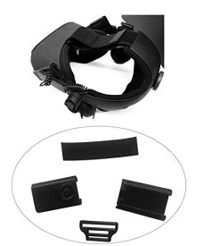SHEAWA Oculus Quest 接続アダプター HTC VIVE デラックスオーディオストラップが装着可能になる