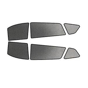 【RUIYA】トヨタ 新型 RAV4 5代目 XA50系 対応 日よけ サンシェード 遮光カーテン(サイドガラス用(6枚))