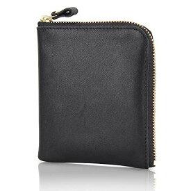 小さい財布 本革 小銭入れ メンズ YKK製 L字ファスナー コインケース ミニ財布 レディース