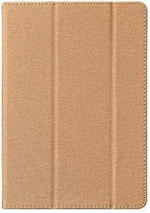 Zshion TECLAST M16 タブレット ケース スタンド機能付き 保護ケース 薄型 超軽量 全面保護型 三つ折高級スマートカバー (ゴールド)
