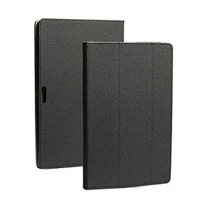 Zshion TECLAST M16 タブレット ケース スタンド機能付き 保護ケース 薄型 超軽量 全面保護型 三つ折高級スマートカバー (ブラック)