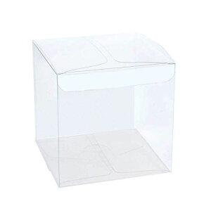 TOPTOMMY クリスタルボックス クリアケース クリアボックス ギフトケース ギフト箱 透明ケース 収納 ディスプレイケース 陳列ケース 25枚 (8x8x8cm)