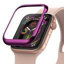 【Ringke】Apple Watch Series 5 / Series 4 40mm ケース ステンレス製 カスタム 保護 フレーム 簡単取り付け メタリ…