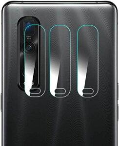 OPPO Find X2 Pro カメラフィルム [Gos Elec] OPPO Find X2 Pro カメラ保護フィルム ラウンドエッジ加工 軟質ガラスフィルム 自己吸着 キズ防止 高光透過率 OPPO FindX2 Pro OPG01 レンズ液晶保護フィルム [3枚