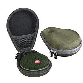 JBL CLIP3 Bluetoothスピーカー専用収納ケース-Adada (アーミーグリーン)