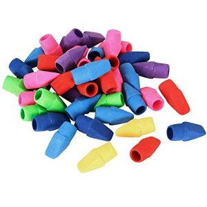 ANPHSIN キャップ 消しゴム - 40枚セット ミニ 消しゴム 可愛い パズル消しゴム 鉛筆消しゴムパック 色鉛筆用 子供用パーティー 子供へのプレゼント 学校 学生 文房具 創造的な おもちゃ カラー