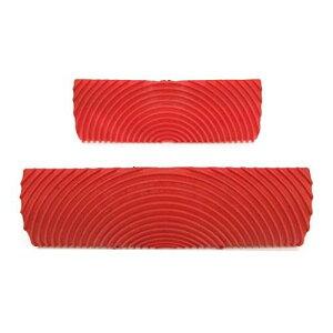 木目調ゴム 塗装ツール ウッドグレイニングツール ゴムパッド 壁 布 キャンバス 紙などの多くの表面を装飾するために使用できます 2個セット
