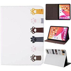 Microgadget iPad Pro 11 ケース 2020 オートスリープ/ウェイク iPad 11インチ専用 ケース 手帳型 かわいい 猫 肉球 動物 第2世代 2020モデル保護カバー おしゃれ PUレザースタンド機能アイパッドプロ11 iP