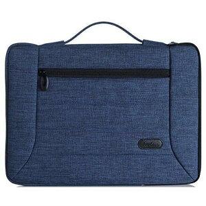 ProCase 12-12.9インチ ラップトップ用スリーブ ケース カバー バッグ MacBook Surface Pro 2017 Pro 6 4 3 Apple iPad Pro, 11 12インチ Ultrabook Notebook MacBook Chromebook対応 紺色
