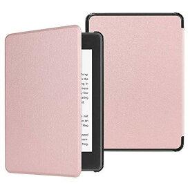 Fintie for Amazon Kindle Paperwhite 第10世代 ケース 軽量 薄型 オートスリープ機能付き Kindle Paperwhite 2018 Newモデル 第10世代 用 保護カバー (ローズゴールド)