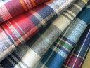 【ゆうパケット送料無料】とてもやわらかな肌ざわり♪オシャレ! インド綿マドラスチェック