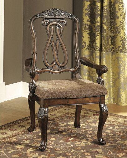 輸入家具■ASHLEY■アシュレイ■Dining UPH Arm Chair