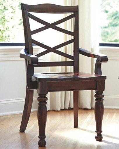 輸入家具■ASHLEY■アシュレイ■Porter Dining Room Arm Chair