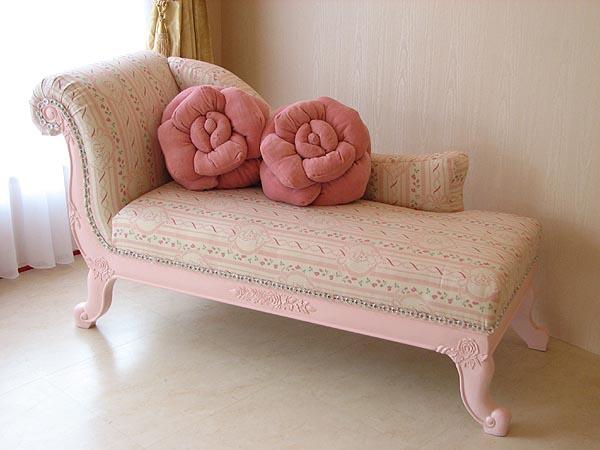 輸入家具■オーダー家具■プリンセス家具■バービーピンク■カウチソファ