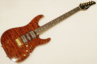 SCHECTER 시크타 NV-DX-24-MH-VTR QUILTED BUBINGA/E 12개 한정 생산