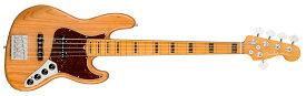 【送料無料】Fender American Ultra Jazz Bass® V /M/Aged Natural フェンダー アメリカンウルトラジャズベース V 【即納可能♪】