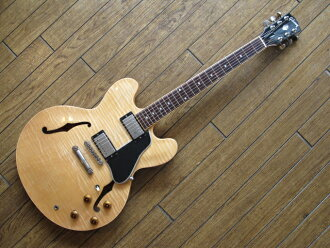 Gibson 깁슨 ES-335 Reissue Dot Reissue Antique Natural # 01055715 일렉트릭 기타