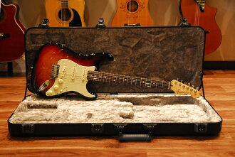 Fender擋泥板[01億9390萬零700]American Professional Stratocaster 3-Color-Sunburst電子吉他/sutoratokyasuta