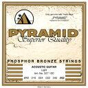【ネコポス可能】Pyramid Strings ピラミッド・ストリングス [2430] Premium Bronze Acoustic Guitar Strin...