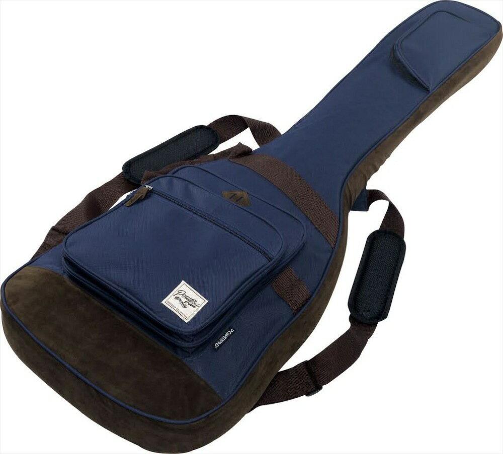 【送料無料】Ibanez アイバニーズ IBB541-NB(Navy Blue)POWERPAD DESIGNER COLLECTION ベース用ソフトケース アイバニーズ/ネイビーブルー 【軽くおり畳んで出荷いたします】