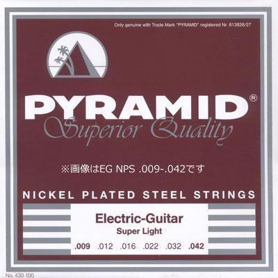 【ネコポス&即納可能♪】Pyramid Strings ピラミッド・ストリングス [2410/2411/2412] Electric Guitar Nickel Plated Steel Strings エレキギター弦/1セット/.009-.042/.010-.046