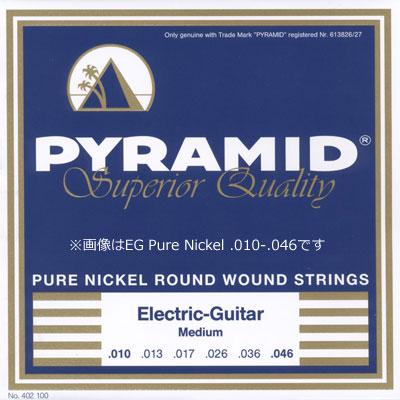 【ネコポス&即納可能♪】Pyramid Strings ピラミッド・ストリングス [2400/2401/2402] Electric Guitar Pure Nickel Round Wound Strings エレキギター弦/1セット/.009-.042/.010-.046/09-42/10-46