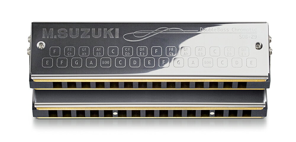 SUZUKI《スズキ》SDB-29 V2 ダブルバスハーモニカ