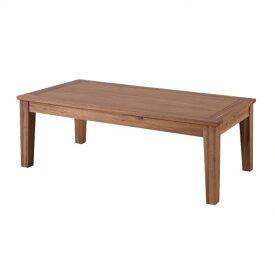 【送料無料・メーカー直送・代引き不可】アルンダ センターテーブル 110cm Arunda Center Table【東谷 ROOM ESSENCE】NX-711 リビング 天然木 アカシア 家具 机 リビングテーブル