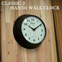 CLASSIC 2 HANDS WALL CLOCK クラシック 2ハンズ ウォールクロック【TOSSDICE トスダイス】tdnm3057 レトロ お洒落 YUTENJI TOKYO アンティーク調 壁掛け時計 アナログ