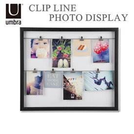 CLIP LINE PHOTO DISPLAY (クリップライン フォトディスプレー)【アンブラ UMBRA】フォトフレーム アルバム 写真入れ 写真立て インテリア雑貨 北欧 西海岸 (z)