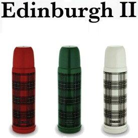 エジンバラ2 サーモスボトル 500 [レッド|グリーン|クリーム]【青芳製作所】Edinburgh II チェック柄ステンレス行楽