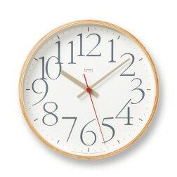 AY clock [ エーワイクロック] 壁掛け時計 山本章 モダン ナチュラル シンプル お洒落 あたたかみのあるデザインの掛け時計  【タカタレムノス Lemnos】