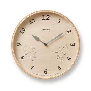BAUM [ バウム]  モダン ナチュラル シンプル お洒落 熟練職人の手によって作られた、懐かしいデザインの掛け時計【タカタレムノス Lemnos】
