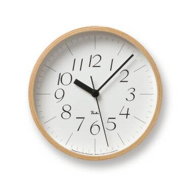 RIKI CLOCK S [リキクロック S] モダン ナチュラル シンプル お洒落 渡辺力デザイン 見やすさを重視してデザインされた時計 【タカタレムノス Lemnos】