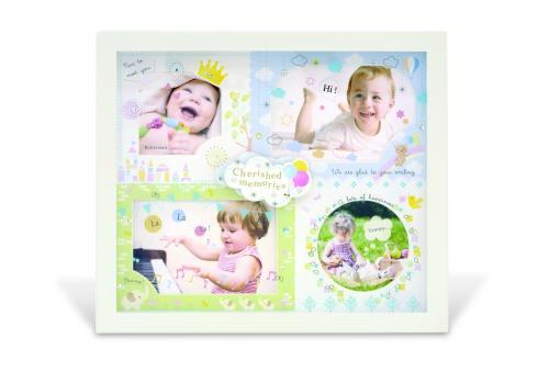アミカ ベビーフレーム AMICA BABY FRAME フォトフレーム KISHIMA キシマ 写真立て 出産祝い メモリアルグッズ ベビー 赤ちゃん 男の子 女の子 ブルー ピンク 12ヶ月