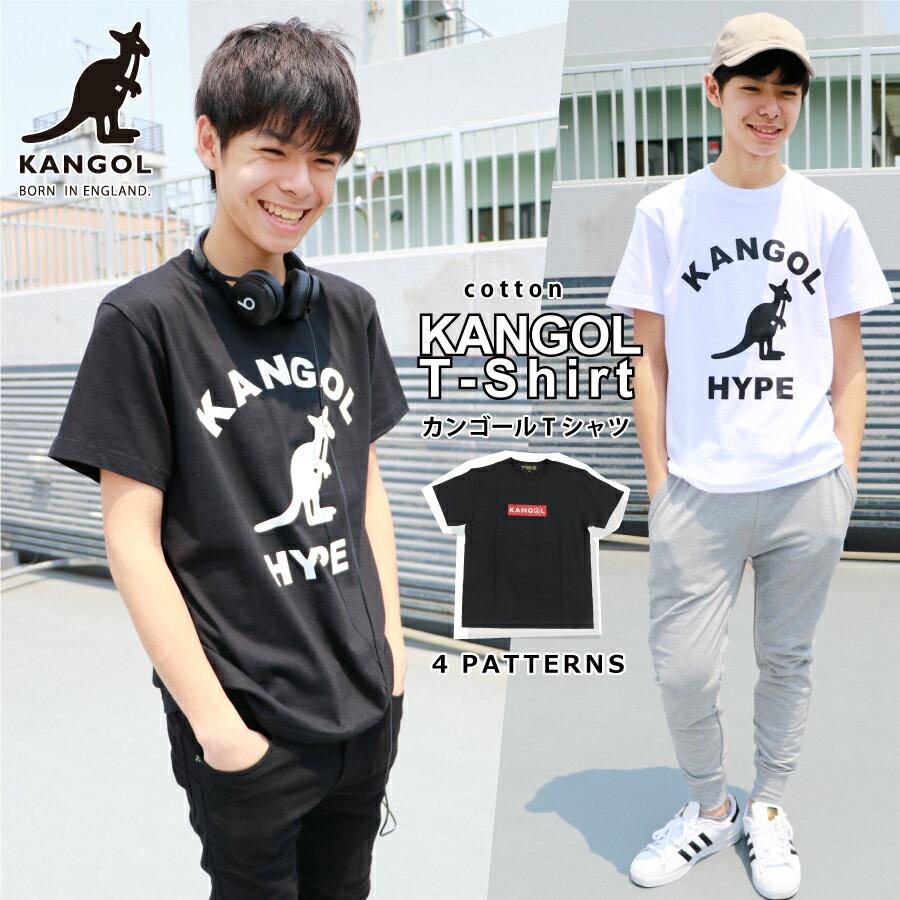KANGOL カンゴール Tシャツ 半袖 メンズ ロゴ メンズファッション ストリート カジュアル 夏 夏服 ホワイト ブラック