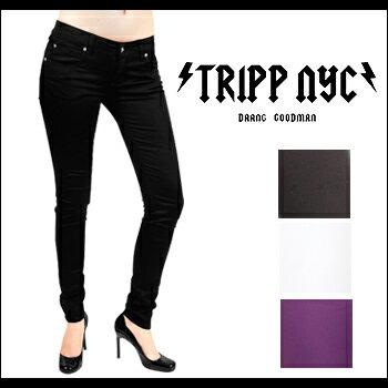 【即納】TRIPP NYC(トリップニューヨークシティ) T-BACK SKINNY @ 4color [IS6235] レディス スキニー スキニージーンズ スキニーパンツ 【smtb-kd】【RCP】