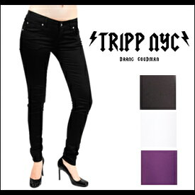 TRIPP NYC(トリップニューヨークシティ) T-BACK SKINNY @ 4color [IS6235] レディス スキニー スキニージーンズ スキニーパンツ 【smtb-kd】【RCP】