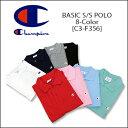 【即納】CHAMPION(チャンピオン) BASIC S/S POLO [C3-F356] ロゴ アクションスタイル ポロシャツアメカジ レディス メ…