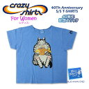 96d103763 Crazy Shirts (crazy shirt) -T-shirt blue Hawaii dyeing of the 40th  anniversary of Womens- S/S Scoope Neck Tee @BLUE HAWAII DYED[210911] 40Th  Anniversary ...