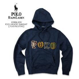 Polo Ralph Lauren(ポロ ラルフローレン) P/O HOOD SWEAT @EMBLEM[710763790] スウェットシャツ フード パーカー アメガジ 長袖2019FW【\25,000】【smtb-kd】【RCP】
